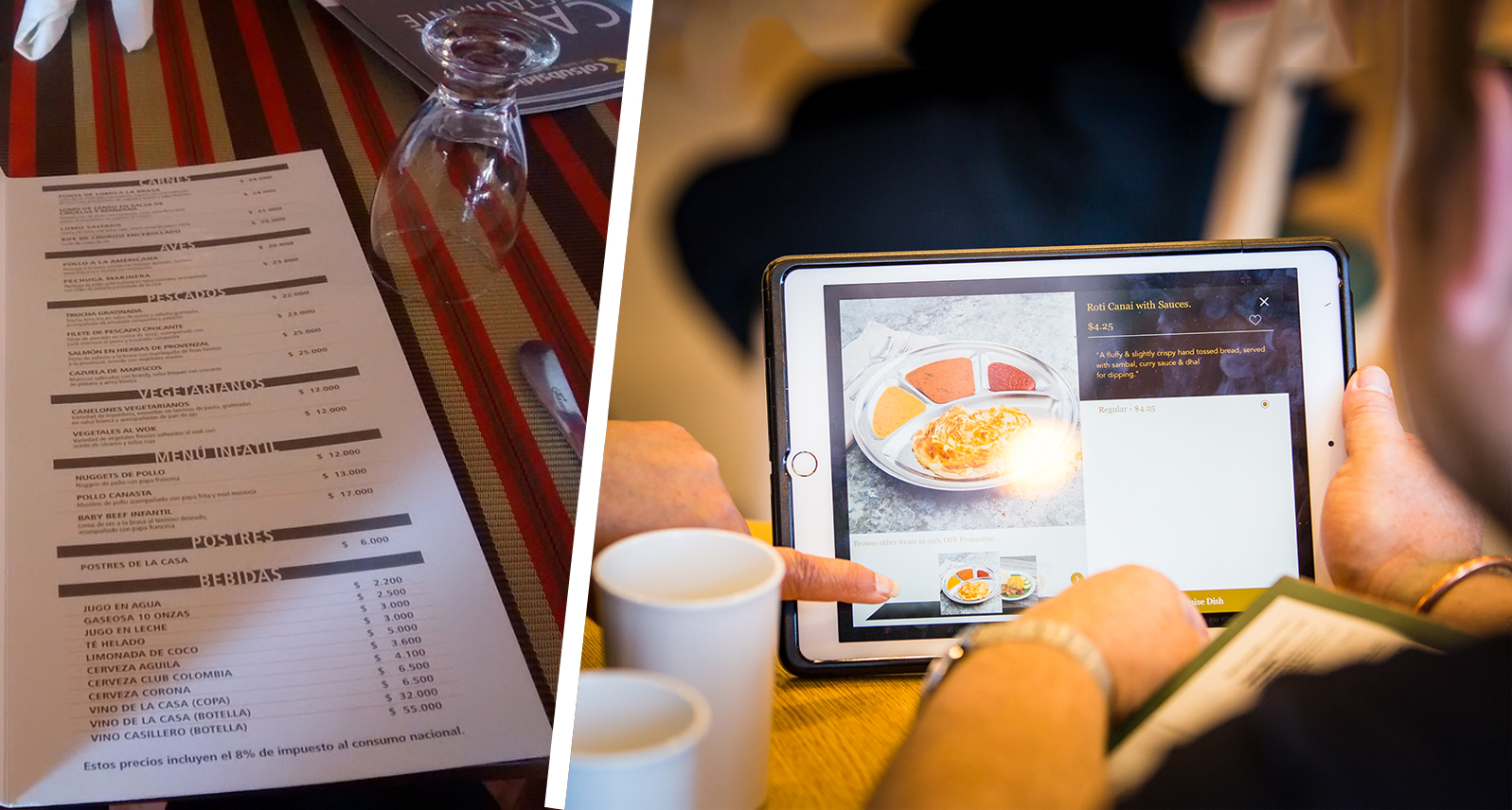 Paper-Vs-Digital-Menu